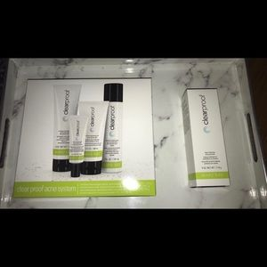 Clearproof skin care bundle + Charcoal mask 😍